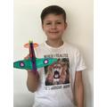 Henry's spitfire plane