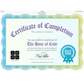 Betty's Coding Certificate