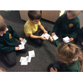 Sorting animals into groups.