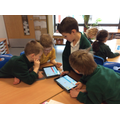In ICT we used Scratch Jr to explore programming.
