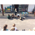 Today we performed our poems.