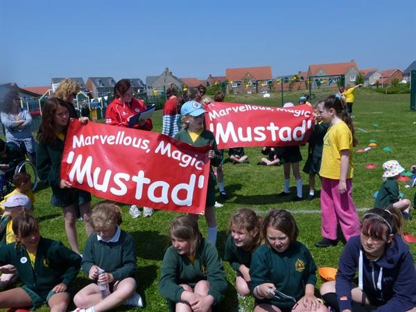 Go Mustad House!