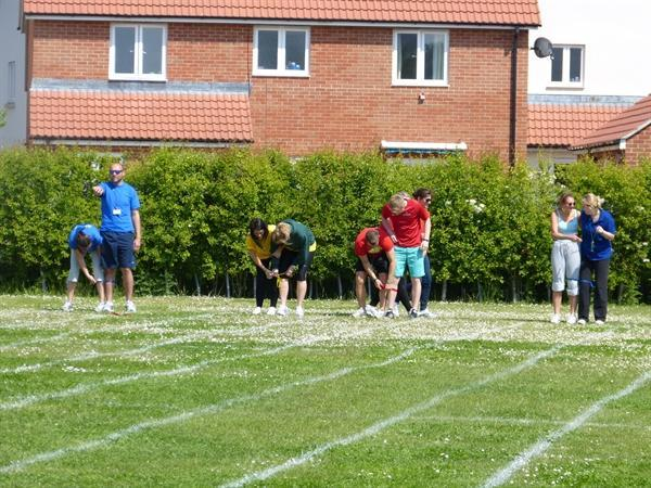 On Your Marks.......