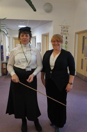 The Headmistress and the Deputy Headmistress