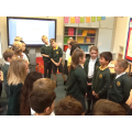 Year 4  use drama to support their learning.