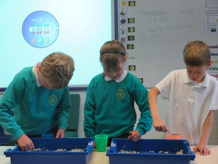 The competition got pretty tense!