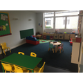 EYFS Indoor free play space