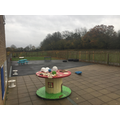 Green Finch outdoor learning area