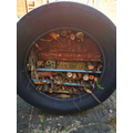 Mrs Bell and Teams bug hotel.