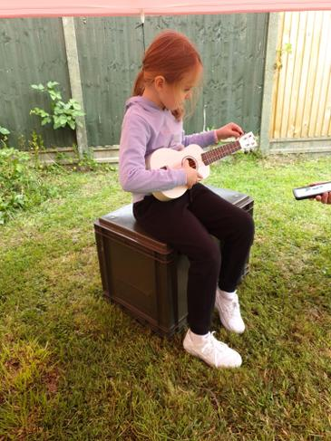 ERS has been mastering the Ukulele