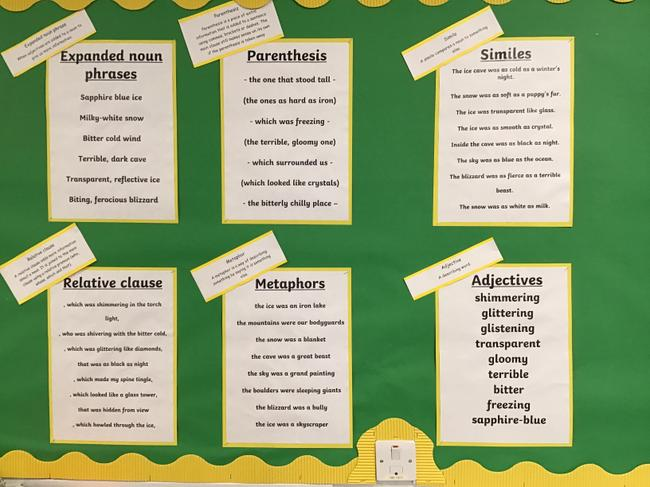 We have been improving our descriptive language for our setting descriptions.