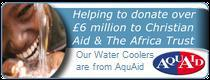 Our water coolers are provided by Aquaid Water