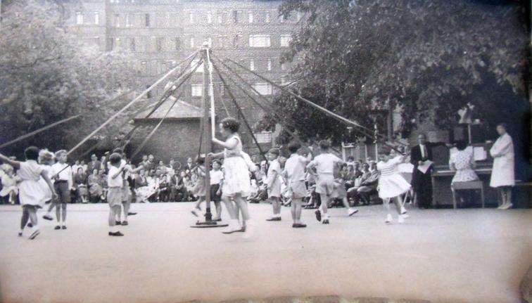 Maypole Dancing 1950s