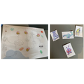 Marshall created a space themed board game