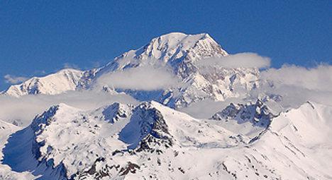 This mountain is called White Mountain.