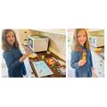 Molly has made healthy fruit rockets