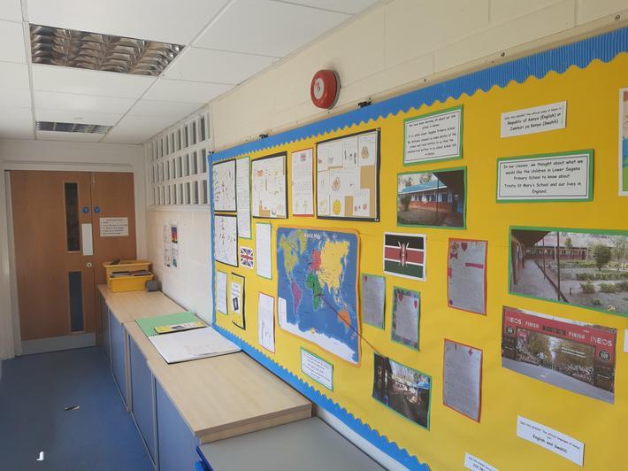 Key Stage 1 Corridor