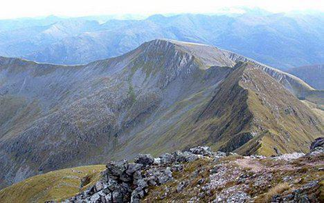 This mountain is the highest mountain in Britain.