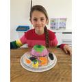 Kacey's cake creation.