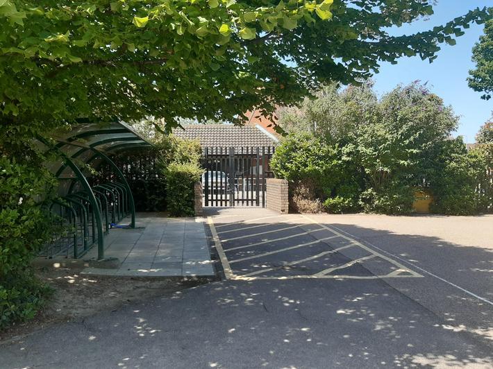 Pedestrian Gate Entrance