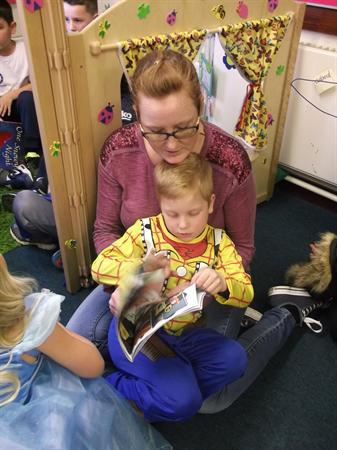 Family Afternoon in Class 1