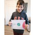 Luke comparing the sun, moon and Earth