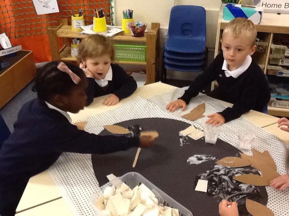 Making mummy owl