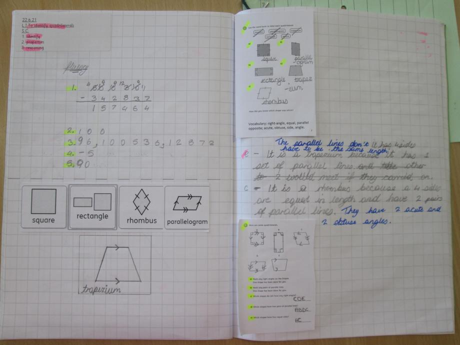 Year Five: Widgits to expand vocabulary