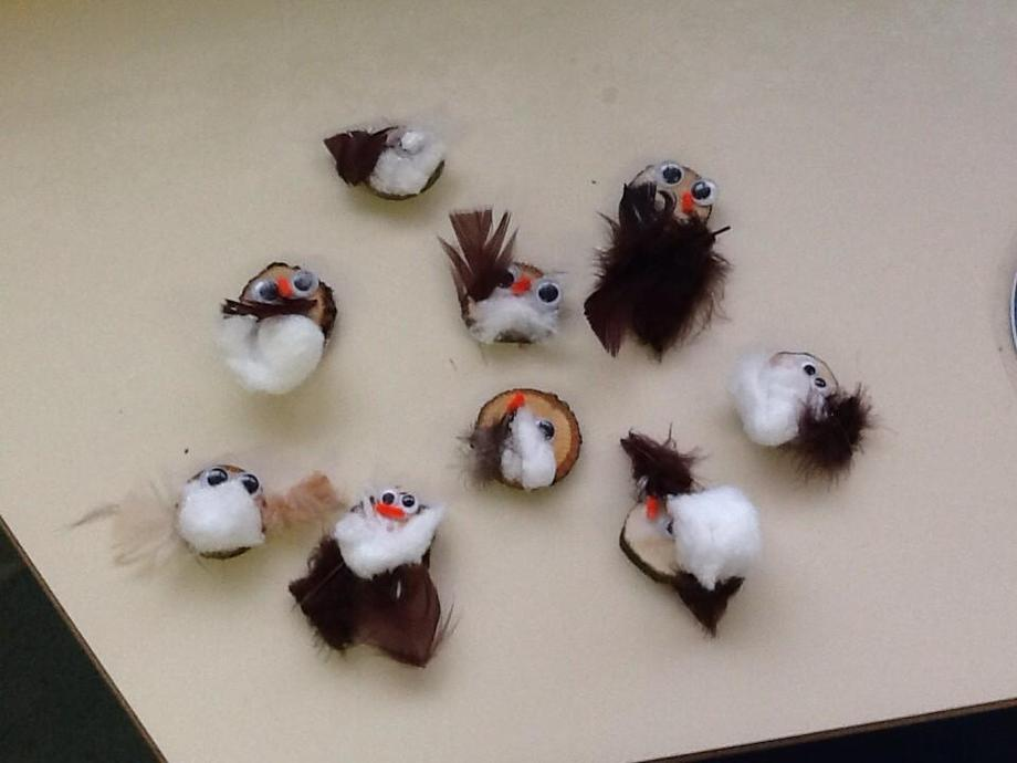 Woodslice owls