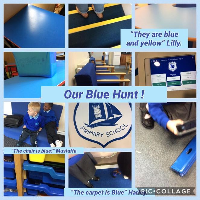 Our colour hunt.