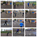 We played cricket thanks Cricket Wales and Glamorgan Cricket club