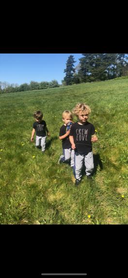 Going through the long wavy grass
