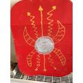 Jonah's Roman shield.