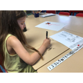 Problem solving - Drawing on the table?!