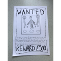 Harry's 'Wanted' poster