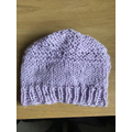Bethany's been learning to knit - she made this hat!