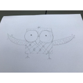 Sophie Martin's awesome owl!