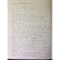 Harry's research notes