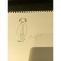 Megan's Hot Dog! #DrawWithRob