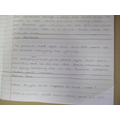 Bethany's 'sick sentence' - well improved!