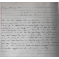Harry's writing