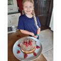 Megan's half term baking efforts :P :P