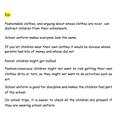 Alfie -For school uniforms