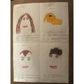 Alfie's french descriptions