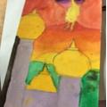 Daisy's art inspired by Stravinsky's Firebird