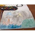 Daisy's watercolour
