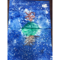 Alfie's Reflection Art