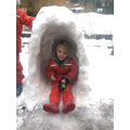 A very impressive igloo!