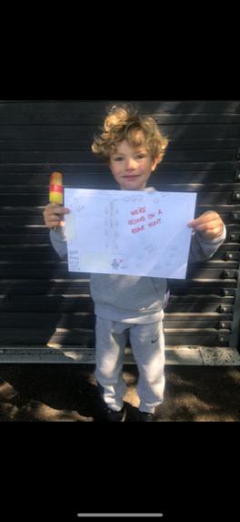 Jordi's Daddy drew a map