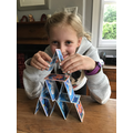 Abi's card tower